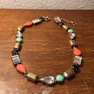 J. Crew multi-color necklace